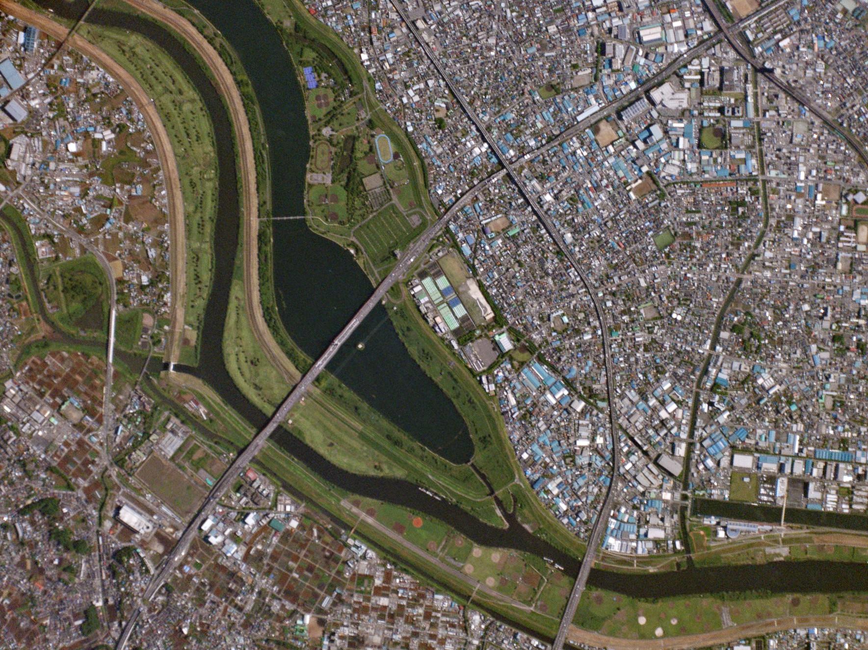 [Arakawa River, Japan]